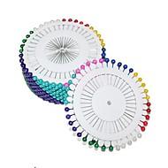 abordables Manualidades para Álbumes de Fotos-colorido pin perla (40pcs x 12)