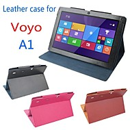 billiga Datortillbehör-ursprungliga monter PU läder skyddar tablett fallet täcker för tablet pc Voyo a1
