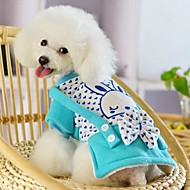 Winter Wedding / Cosplay Cotton / Polar Fleece Coats for Dogs / Cats Red / Blue XS / S / M / L / XL