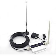 abordables Accesorios para Móvil-pantalla LCD mini DCS antena lechón señal de la señal del teléfono móvil 1800mhz refuerzo repetidor con 10 m de cable 4g 2g 3g