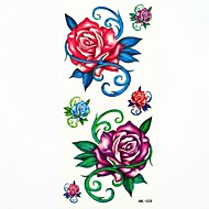 abordables -#(1) Los tatuajes temporales Impermeable Papel Tatuajes Adhesivos