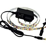 1m Flexible LED-Leuchtstreifen 60 LEDs 5050 SMD Warmes Weiß