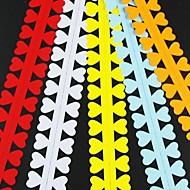 Недорогие -5шт 3 см х 52см любовь в форме лепестка квиллинг цветок набор бумаги творческий поделки оригами бумаги прокатки
