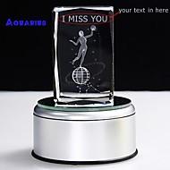 abordables Papelería Personalizada-regalo personalizado caja de música aquarius 3d liwuyou ™