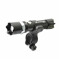 billige Lommelygter-LED Lommelygter Cykellys LED lm 5 Tilstand Justerbart Fokus Nedslags Resistent Glidesikkert Greb Genopladelig Vandtæt Slag Kant