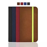 abordables HHMM-hhmm arenoso de la rutina de la PU puede insertar la tarjeta tiene cuerda manos para el iphone 6 caso de 4.7 pulgadas (colores surtidos)