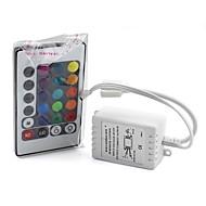 abordables Controladores RGB-12 V Sensor de infrarrojos Plástico + + PCB Resistente al agua Cubierta Epoxy Conector de Bombillo