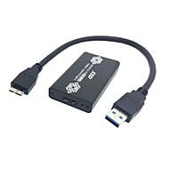 저렴한 -PCI - USB 2.0 Male - Male 짧은 (20 cm이하)