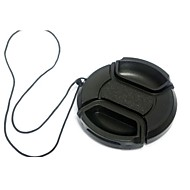 Dengpin® 40.5mm Camera Lens Cap for Sony NEX-5R NEX-5T NEX-3N A6000 A5100 A5000 with 16-50mm Lens+a Holder Leash Rope