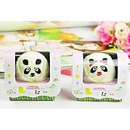 verjaardagscadeau panda vorm fiber creatieve handdoek (willekeurige kleur)