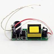 abordables Alimentaciones-1pc 12-18x1w entrada de controlador led interno ac85 ~ 277v para fuente de alimentación de luz de foco