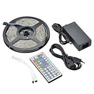 お買い得  -ZDM® 5m RGBストリップライト 150 LED 1 44キーリモコン 1 x 12V 3Aアダプタ RGB 防水 装飾用 12V 1セット