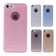 abordables 70% de DESCUENTO y Más-Funda Para Apple Funda iPhone 5 Traslúcido Funda Trasera Color sólido Suave Silicona para iPhone 8 Plus iPhone 8 iPhone 7 Plus iPhone 7