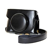 Funda protectora de cuero de la cámara retro pajiatu® PU con la correa de hombro para Fujifilm X30