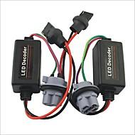 abordables Kits de Faros HID-coche 7440 t20 llevó la luz de advertencia de carga cancelador resistencia decodificador - 2pcs