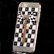 豪華なダイヤモンドパールクリスタルは、iPhone 6用のカバーケースをバックちょう結び