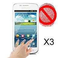 matt képernyővédő fólia Samsung Galaxy trend duók s7562 (3 db)