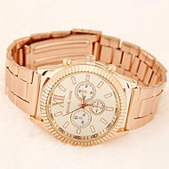 cheap Jewelry & Watches-Women's Casual Watch Fashion Watch Tile Other Band Gold