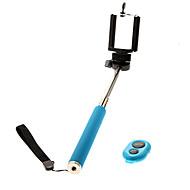 abordables Trépieds, Monopieds & Accessoires-clip z07-1 téléphone portable + poche monopode + bluebooth télécommande