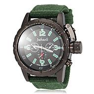 Недорогие Фирменные часы-JUBAOLI Муж. Армейские часы Наручные часы Кварцевый Горячая распродажа Материал Группа Аналоговый Кулоны Черный / Красный / Зеленый - Черный Красный Зеленый
