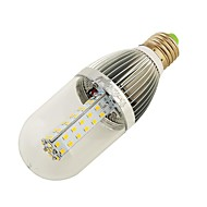 10W E26/E27 LED kukorica izzók T 54 led SMD 2835 800-850lm Meleg fehér Természetes fehér 3000K Dekoratív DC 12