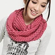 Feminino Casual Roupa de Malha Inverno Amarelo Rosa claro Vinho Rosa escuro Melancia