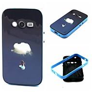 Для Samsung Galaxy Note Защита от удара / С узором Кейс для Задняя крышка Кейс для Пейзаж TPU Samsung Ace 4