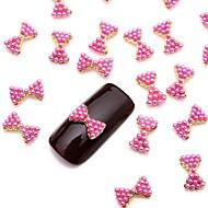 levne -Půvab nail art manikúra pedikúra Kov Ovoce / Květina / Abstraktní Denní / Animák / Nehtové šperky