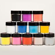 μικτή 12 χρώματα γλυπτική τέχνη νυχιών γλυπτική σκάλισμα ακρυλική σκόνη νύχια γλυπτική λουλούδι για DIY 3d διακόσμηση νυχιών