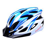 저렴한 -FJQXZ 남성용 여성용 남여 공용 자전거 헬멧 18 통풍구 싸이클링 도로 사이클링 사이클링 라지: 59-63cm;