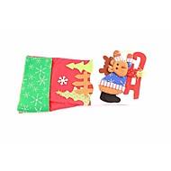 abordables Artículos para Celebración-navidad regalos de alto grado de los niños calcetines el árbol de navidad dornaments