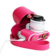 dengpin® estuche protector desmontable de la cámara retro cuero de la PU para Samsung NX3000 con 16-50mm o 20-50mm lente