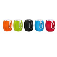 abordables Altavoces-Al Aire Libre Interior Bluetooth Portátil Wireless Bluetooth 2.1 3.5mm AUX USB Negro Naranja Rojo Verde Azul