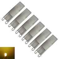 voordelige 2-pins LED-lampen-210-270 lm G9 LED-maïslampen T leds Warm wit AC 85-265V V