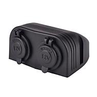 Недорогие Автомобильные зарядные устройства-два морских прикуриватель сплиттера розетки адаптер питания