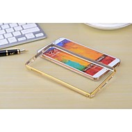 Для Samsung Galaxy Note Other Кейс для Бампер Кейс для Один цвет Металл Samsung Note 3