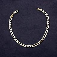 Muškarci Žene Gipke i čvrste narukvice Pozlaćeni Jewelry Za Vjenčanje Party Dnevno Kauzalni Sport