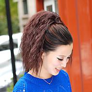 높은 품질의 패션 아름 다운 갈색 호랑이 뜨거운 옥수수 클립 포니 테일