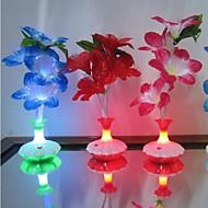 3 - (W) - Color variable - Batería - A Prueba de Agua - Lámparas de Noche V)