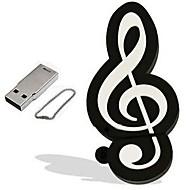 abordables Accesorios para Tablet y PC-1GB memoria USB Disco USB USB 2.0 El plastico Instrumentos Musicales Dibujos