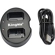 저렴한 -kingma® NEX-5C의 NEX-C3 NEX-7 A33 A55 NEX-5N의 NEX-F3의 SLT-A37 NEX-7 카메라 소니 NP-FW50 배터리 듀얼 슬롯 USB 배터리 충전기