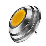 olcso LED szpotlámpák-2W G4 LED szpotlámpák 1LED led COB Meleg fehér Hideg fehér 120-150lm 2800-3500/6000-6500K DC 12V