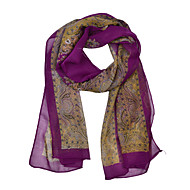 cheap Scarves & Wraps-Women's Vintage / Party / Work Chiffon Rectangle - Print / Scarf