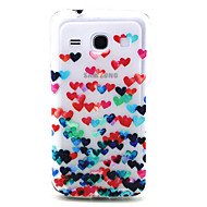 preiswerte Handyhüllen-Hülle Für Samsung Galaxy Samsung Galaxy Hülle Transparent / Muster Rückseite Herz TPU für Core Plus