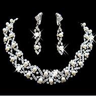 preiswerte -Damen Schmuckset Niedlich Party Modisch Brautkleidung Hochzeit Party Besondere Anlässe Geburtstag Verlobung Perle Künstliche Perle