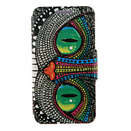 cheap Cell Phone Cases-Case For Samsung Galaxy Samsung Galaxy Case with Stand Flip Full Body Cases Owl PU Leather for S6 edge plus S6 edge S6 S5 Mini S5 S4 S3