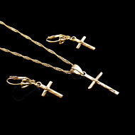 Žene Komplet nakita kostim nakit Pozlaćeni Ogrlice Füllbevalók Za Vjenčanje Party Rođendan Angažman Dnevno Kauzalni Sport Vjenčanje