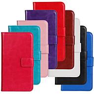 abordables Fundas-Funda Para Nokia Lumia 520 / Nokia Funda Nokia Cartera / Soporte de Coche / con Soporte Funda de Cuerpo Entero Un Color Dura Cuero de PU para