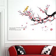 povoljno -Pejzaž Oblici Cvjetnih Botanički Zid Naljepnice Zidne naljepnice Dekorativne zidne naljepnice, Vinil Početna Dekoracija Zid preslikača Zid