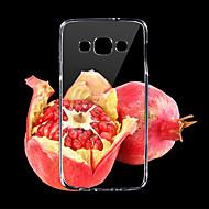 0.3mm ультра тонкий стиль мягкий гибкий TPU крышка для Samsung a3 A3000